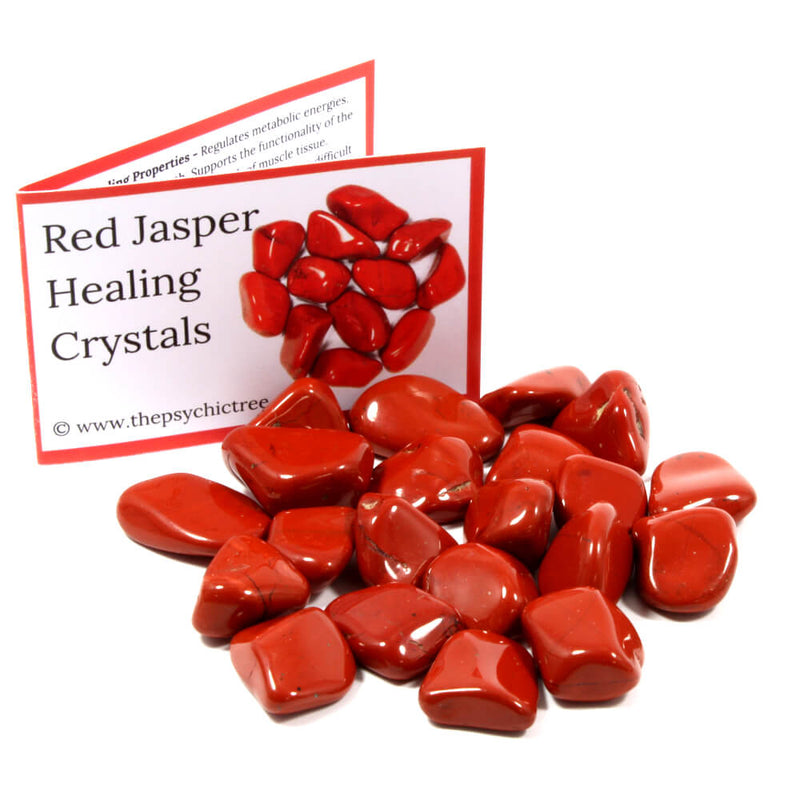 Red Jasper Tumblestone Value Pack