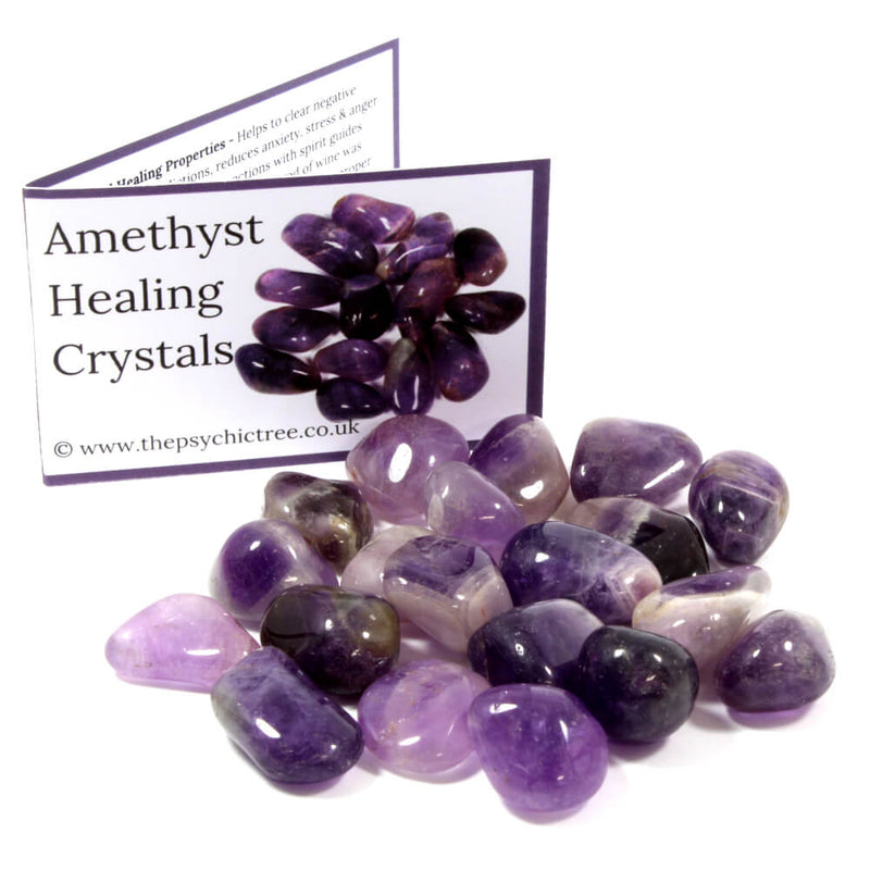 Amethyst Tumblestone Value Pack