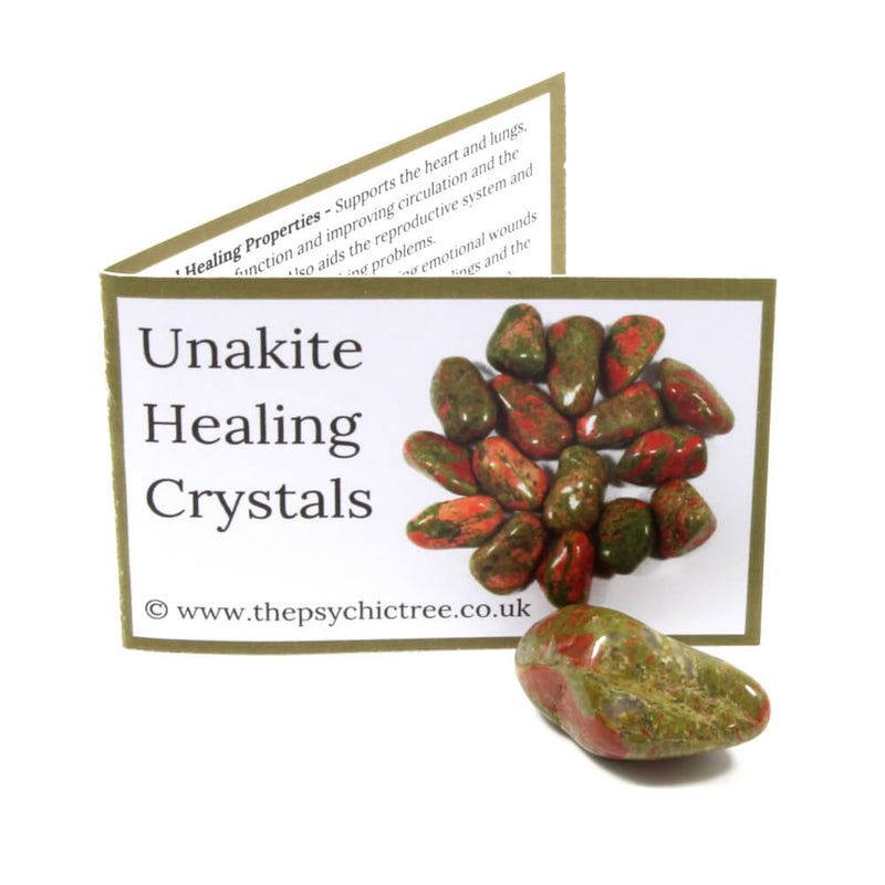 Unakite Crystal & Guide Pack