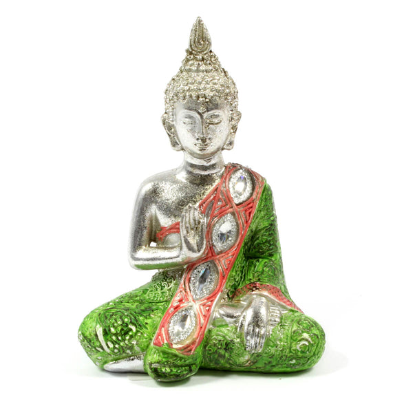 Metallic Thai Buddha - Green