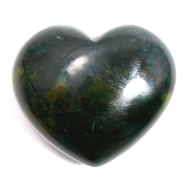 Bloodstone Heart Healing Crystal
