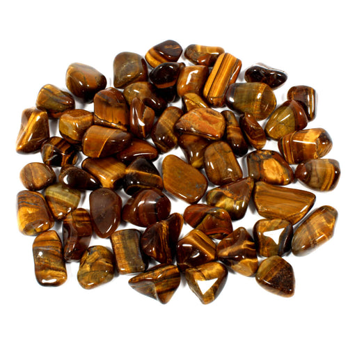 Mini Gold Tigers Eye Polished Tumblestone Healing Crystals