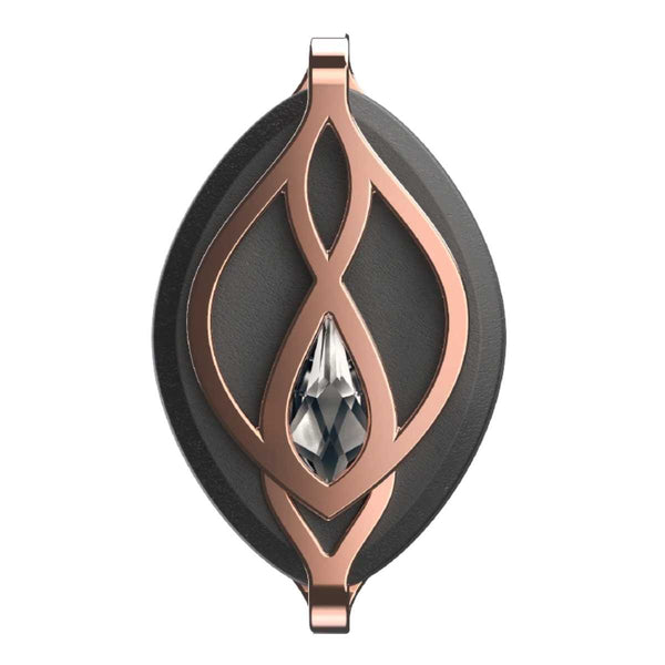 Bellabeat Leaf Crystal - Swarovski Rose Gold