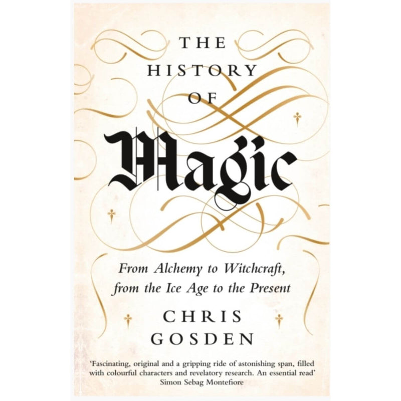 The History of Magic: From Alchemy to Witchcraft, from the Ice Age to the Present by Chris Gosden