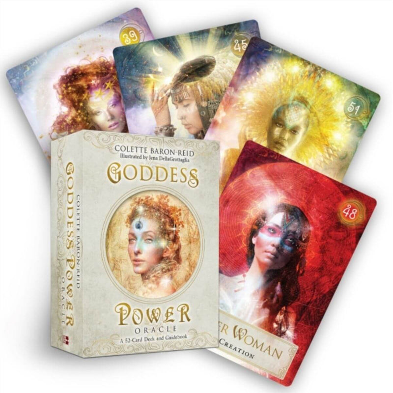 Goddess Power Oracle (Standard Edition): Deck and Guidebook by Colette Baron-Reid