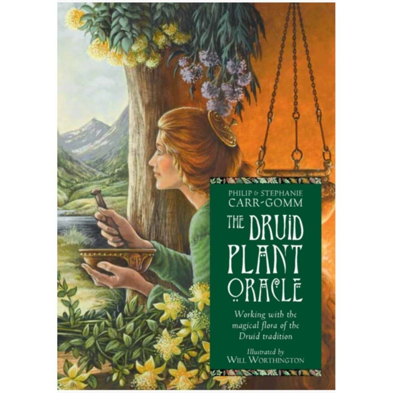 The Druid Plant Oracle: Working with the Magical Flora of the Druid Tradition By Philip Carr-Gomm