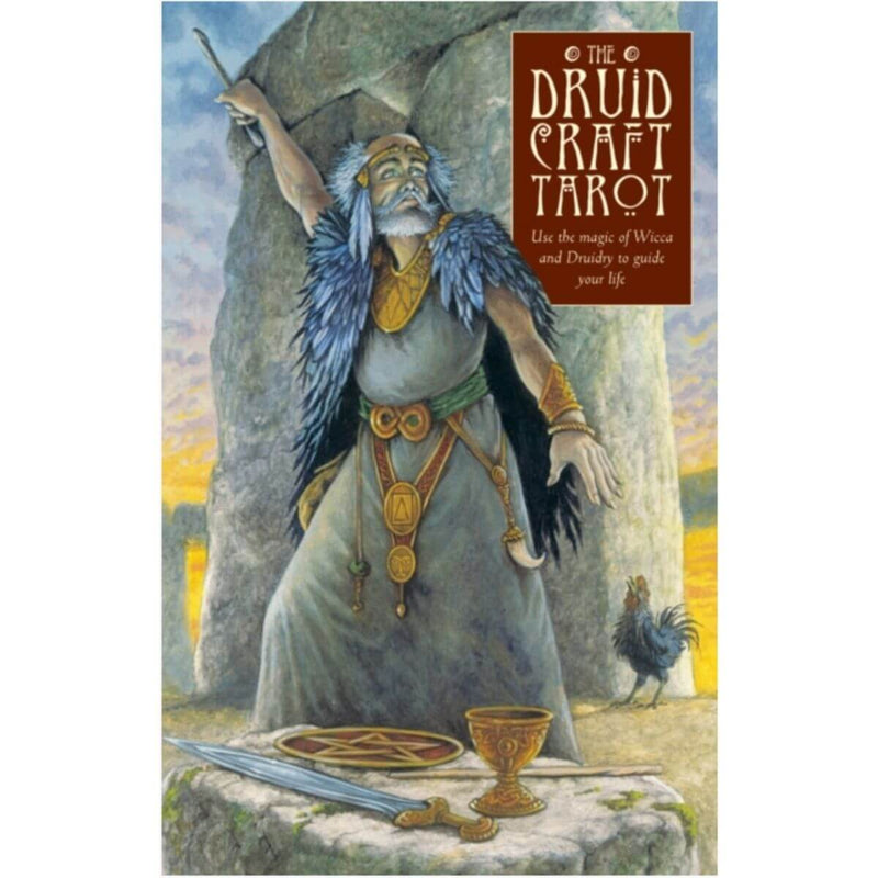 The DruidCraft Tarot: Using the Magic of Wicca and Druidry to Guide Your Life By Philip Carr-Gomm