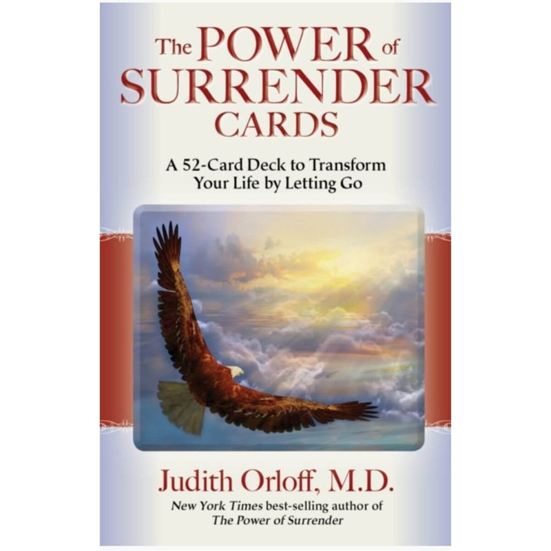 The Power of Surrender Cards: A 52-Card Deck to Transform Your Life by Letting Go By Judith Orloff