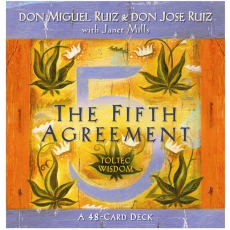 The Fifth Agreement Cards by don Jose Ruiz & don Miguel Jr Ruiz