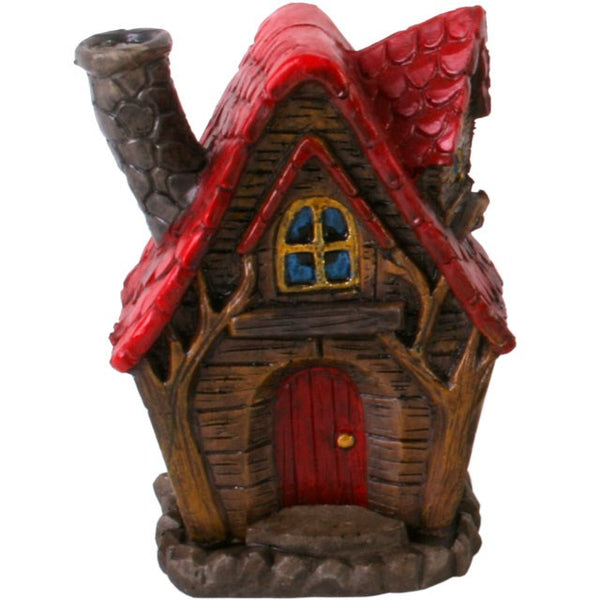 Fairy House Incense Cone Holder - The Willows