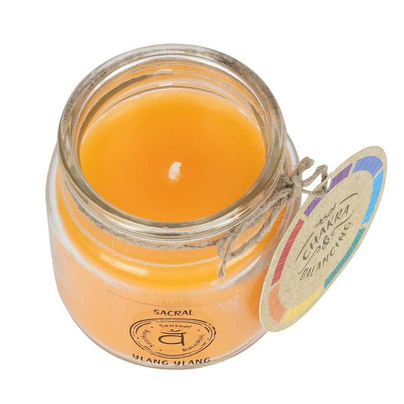 Sacral Chakra Scented Candle