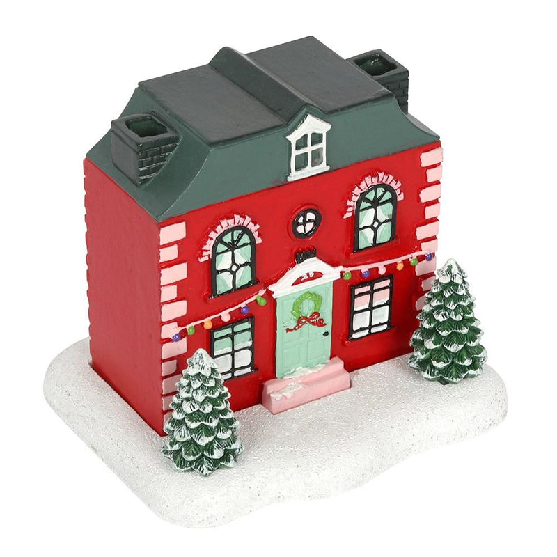 Christmas House Incense Cone Burner