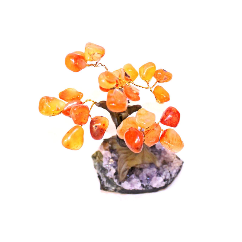 Carnelian Bonsai Tree - Small