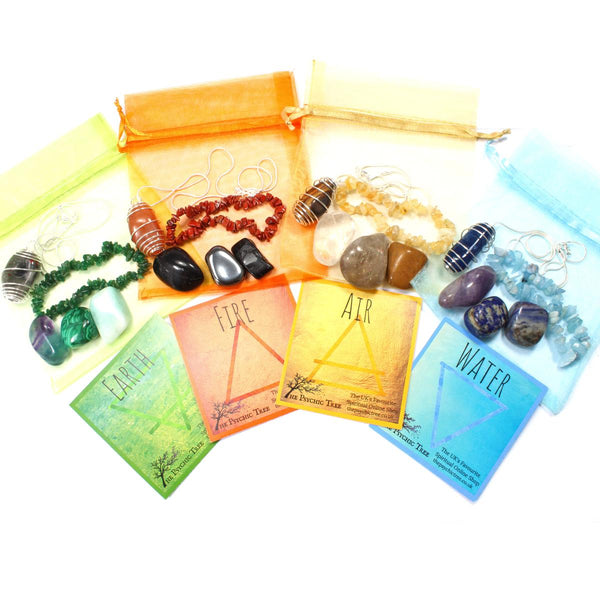 Complete Elements Bracelet, Crystal & Necklace Pack