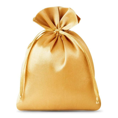 Satin Bag 10 x 13cm - Gold