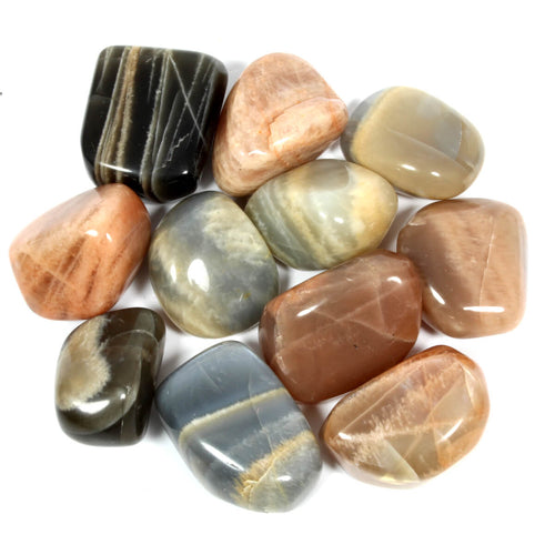 Moonstone Polished Tumblestone Healing Crystals