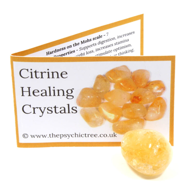 Citrine Crystal & Guide Pack