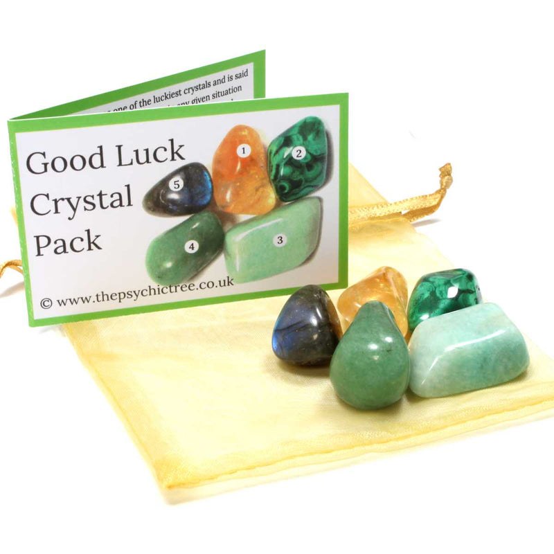Good Luck Healing Crystal Pack