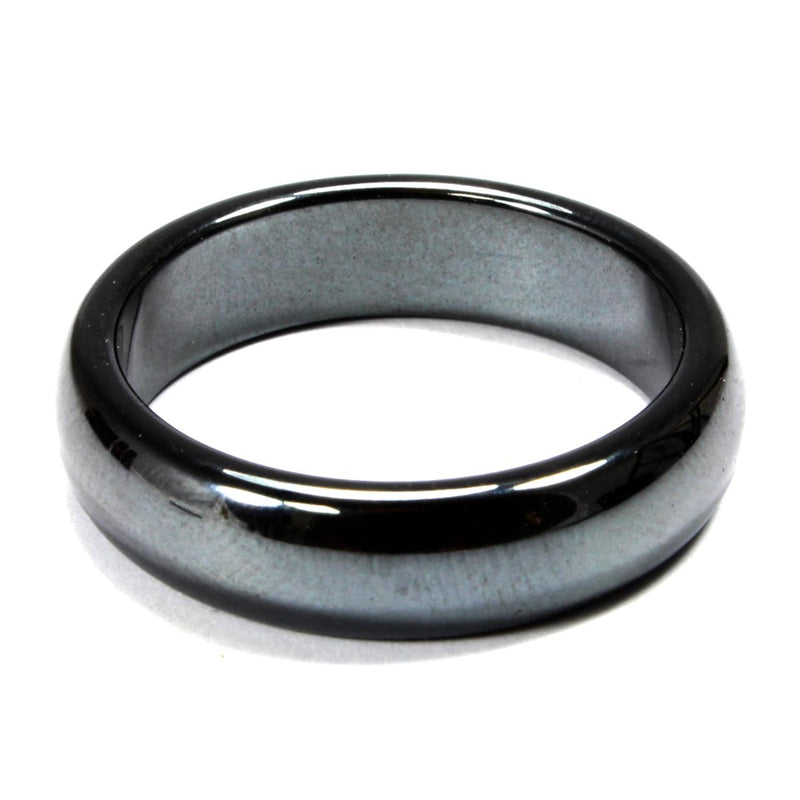Hematite Healing Crystal Ring (Thick)