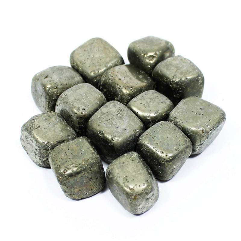 Pyrite Polished Tumblestone Healing Crystals
