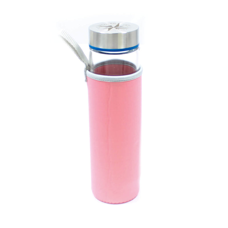 Water Bottle Cover - Light Pink