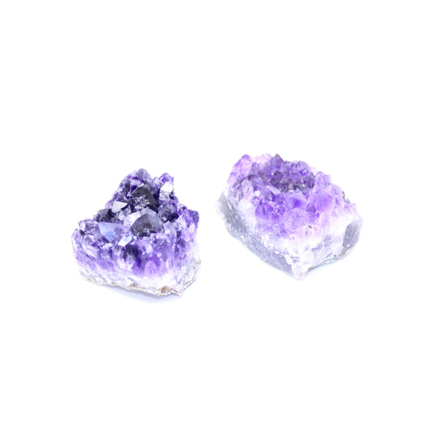 Amethyst Cluster Rough Crystals - Small