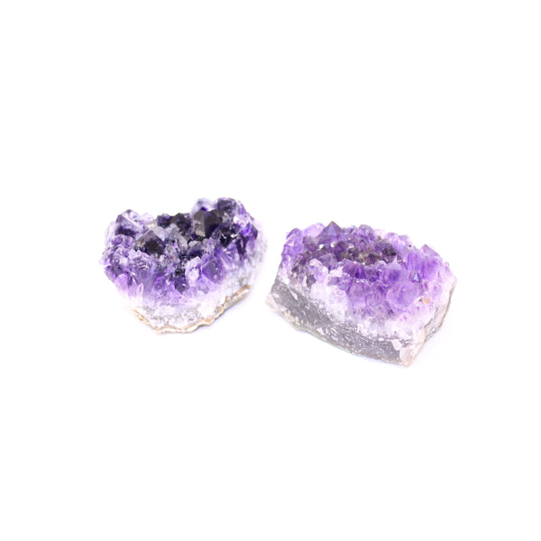 Amethyst Cluster Rough Crystals - Medium