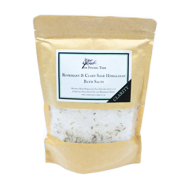 Clarity - The Psychic Tree Himalayan Bath Salt Blend (500g)