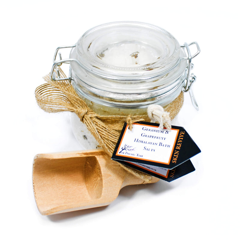 Himalayan Bath Salt Gift Jar - Skin Revive