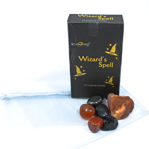 Halloween Crystal & Incense Pack