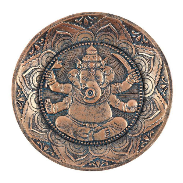 Ganesh Incense Holder Plate
