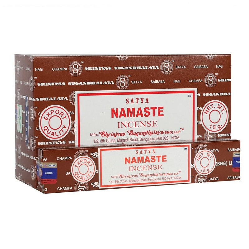 Namaste - Satya Incense Sticks