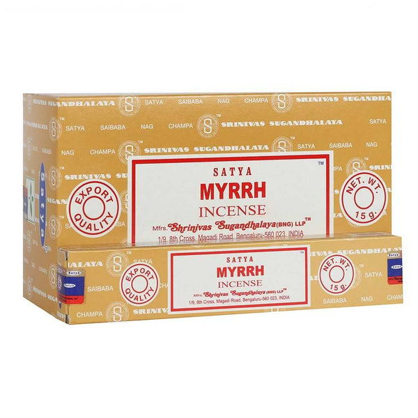 Myrrh - Satya Incense Sticks