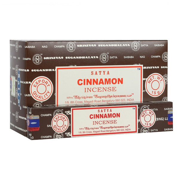 Cinnamon - Satya Incense Sticks