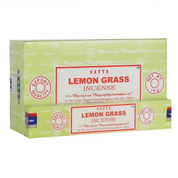 Lemongrass - Satya Incense Sticks
