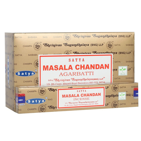 Masala Chandan Agarbatti - Satya Incense Sticks