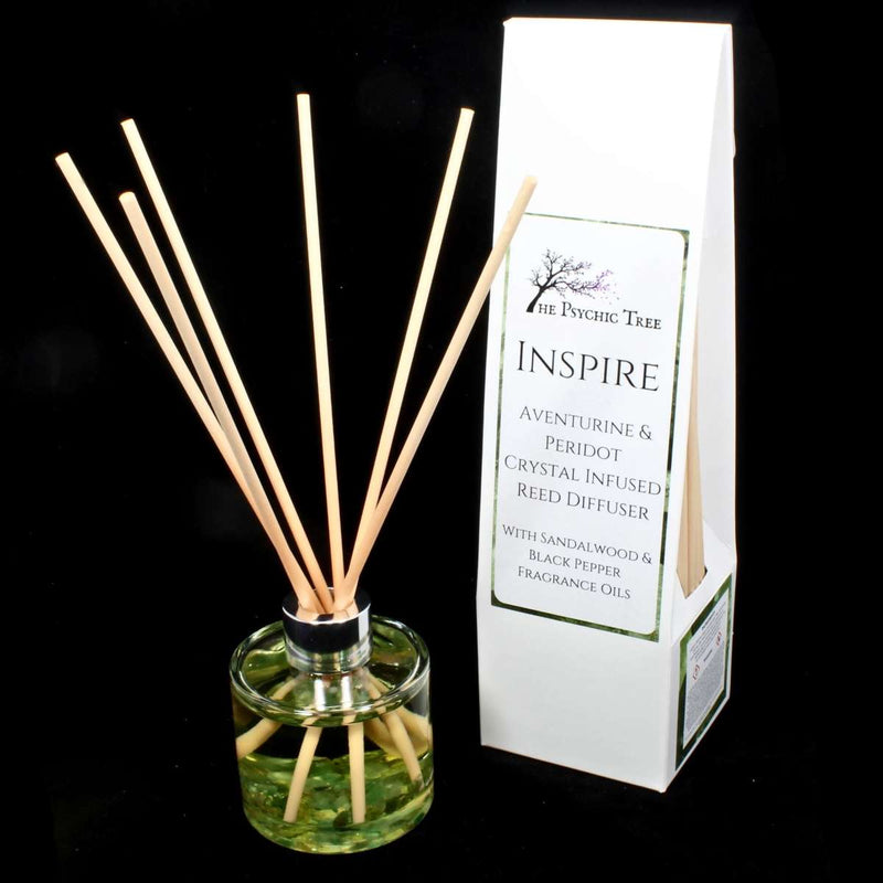 Inspire - Crystal Infused Reed Diffuser