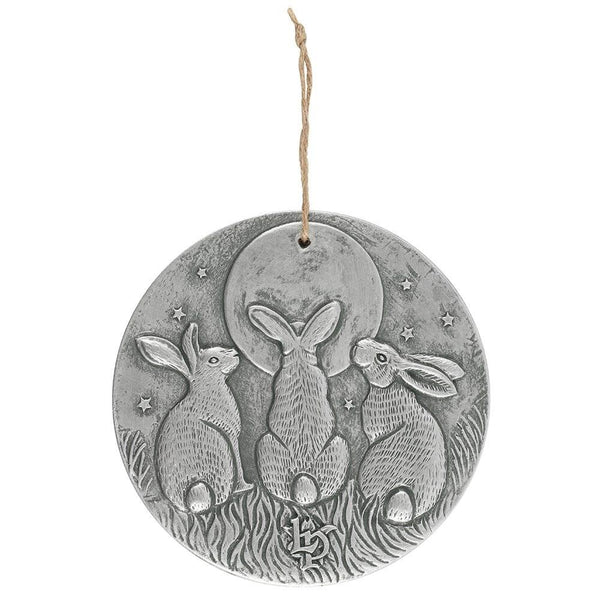 Moon Shadows Plaque (Silver)