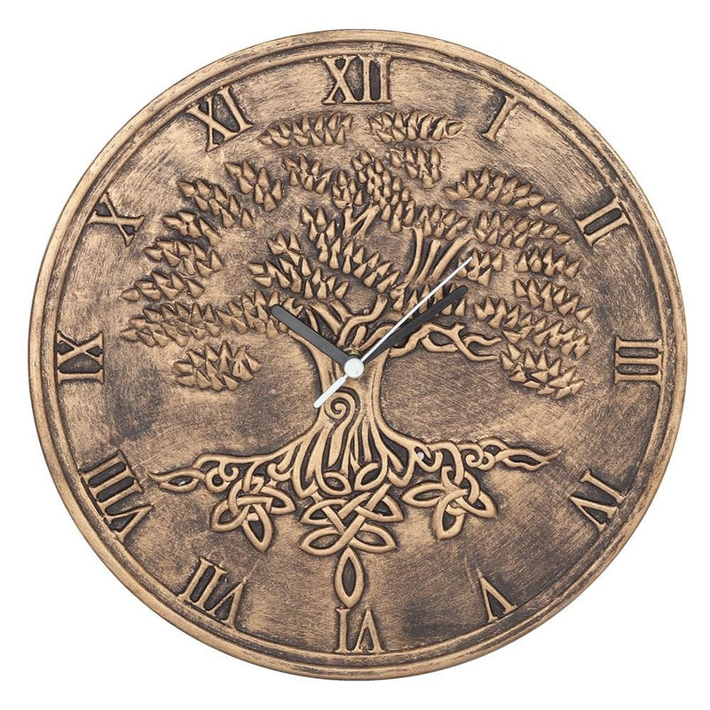 Tree Of Life Clock (Bronze)