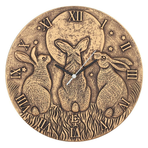 Moon Shadows Clock (Bronze)