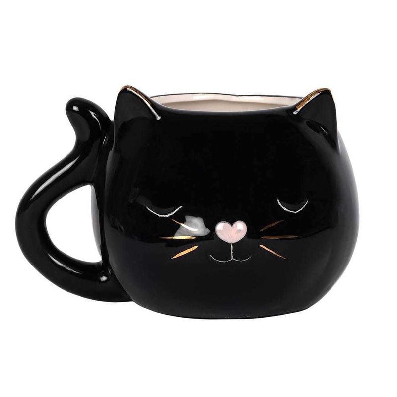 Black Witches Cat Mug