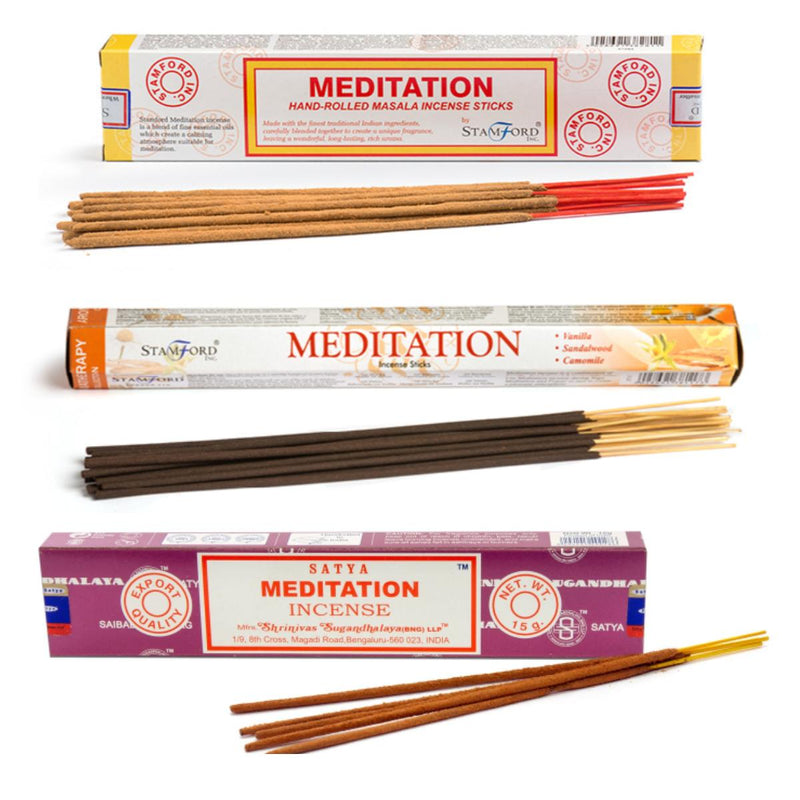 Meditation Incense Stick Combo