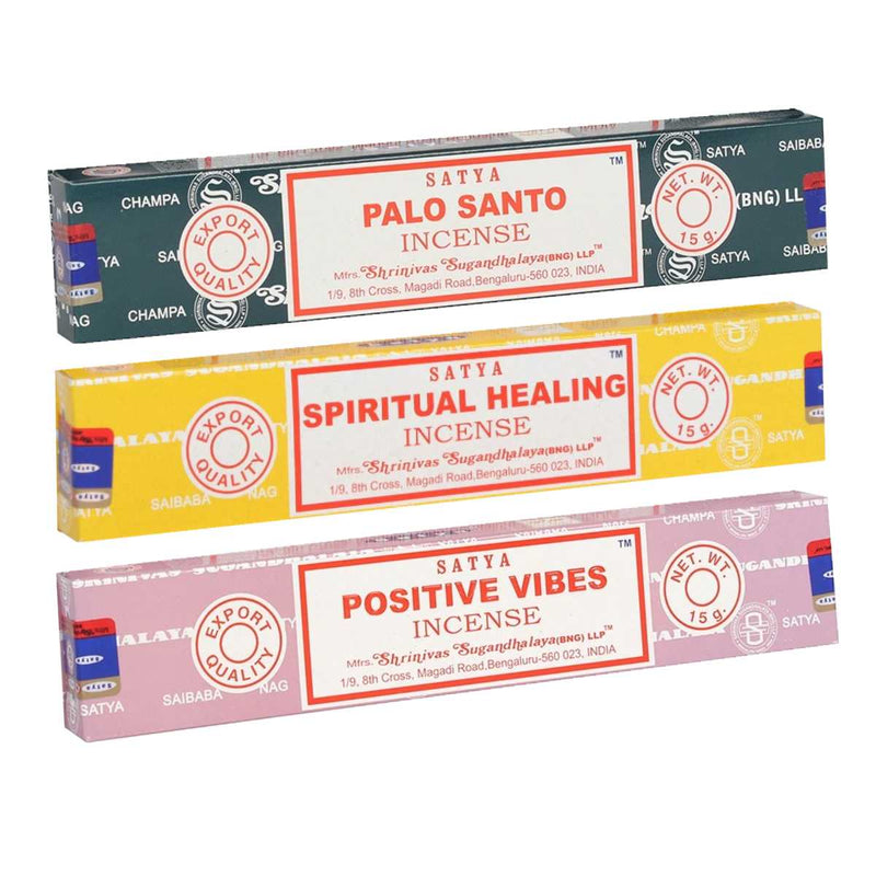 Positive Healing Incense Combo Pack