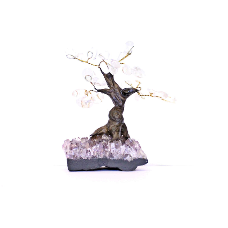 Clear Quartz Bonsai Tree - Small