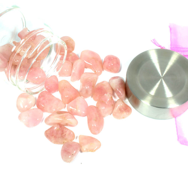 Crystal Water Bottle Pack - Rose Quartz for Unconditional Love