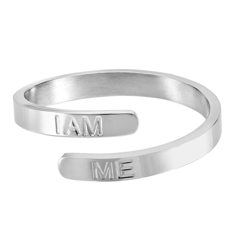 I Am Me - Silver Affirmation Ring