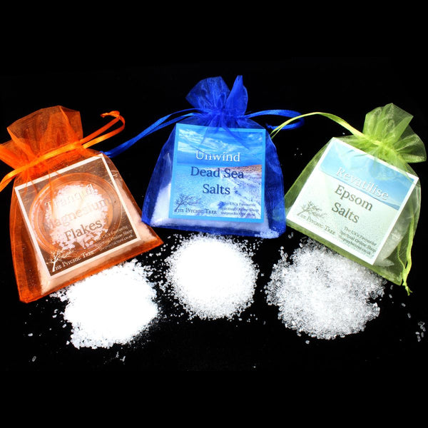Unwind, Revitalise & Tranquil Bath Salts Combo Pack