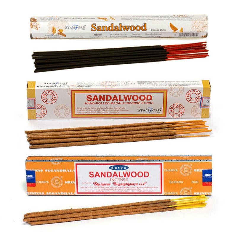 Sandalwood Incense Combo Pack