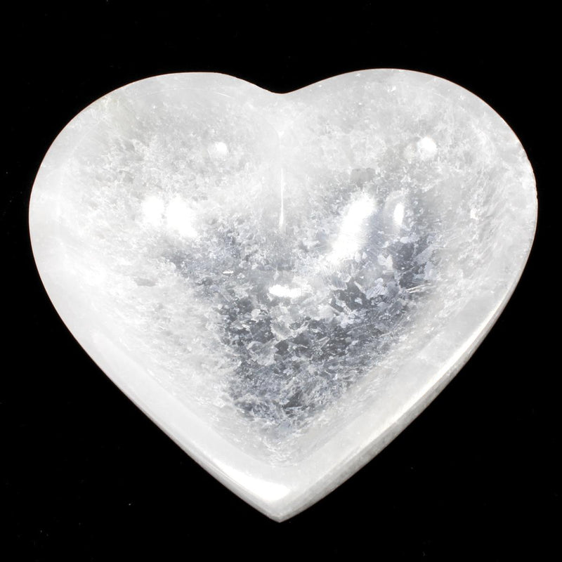 Selenite Heart Shaped Cleansing Bowl