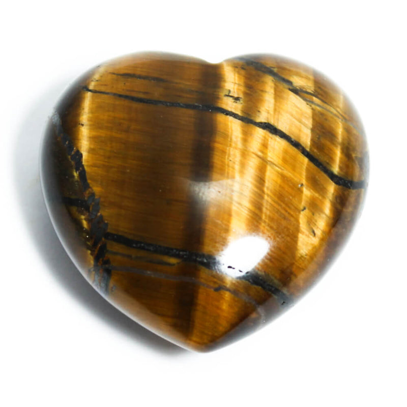 Gold Tigers Eye Heart Healing Crystal